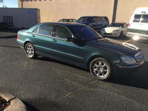 2002 Mercedes-Benz S-Class for sale in Albuquerque NM