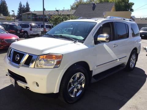2010 Nissan Armada for sale in Roseville, CA