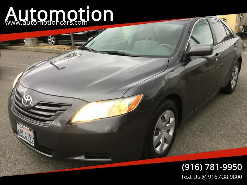 2007 Toyota Camry For Sale At Automotion In Roseville CA