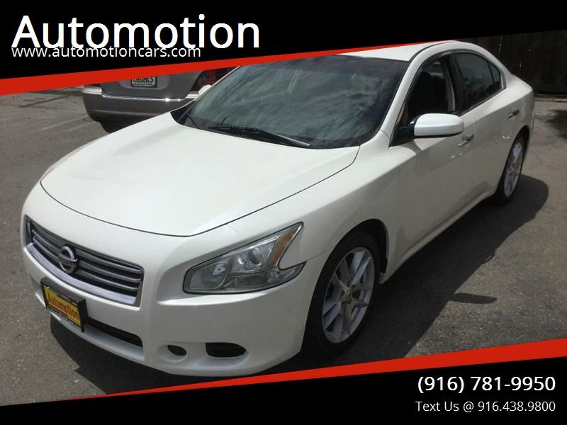 2013 Nissan Maxima For Sale At Automotion In Roseville CA