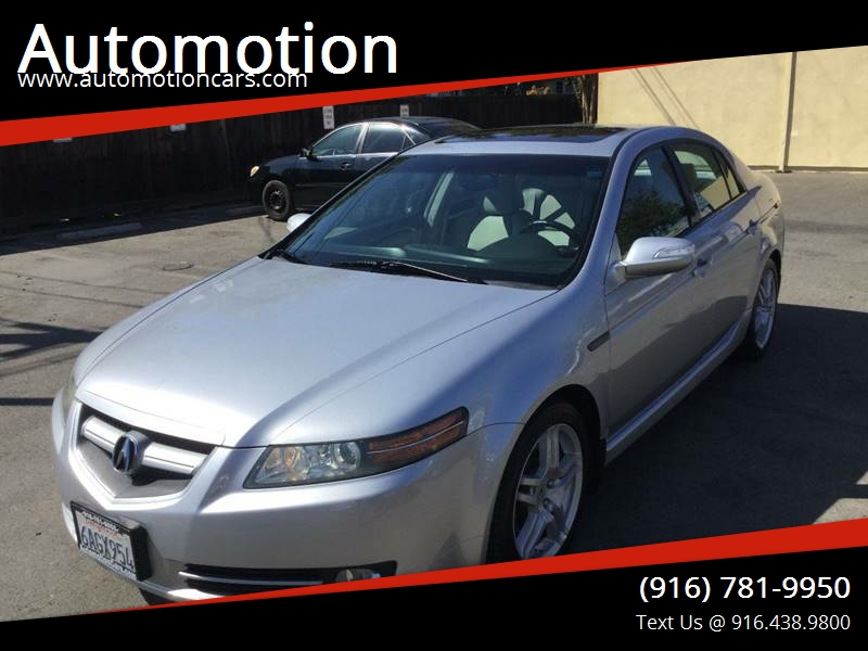 Acura TL WNavi In Roseville CA Automotion - 2007 acura tl for sale