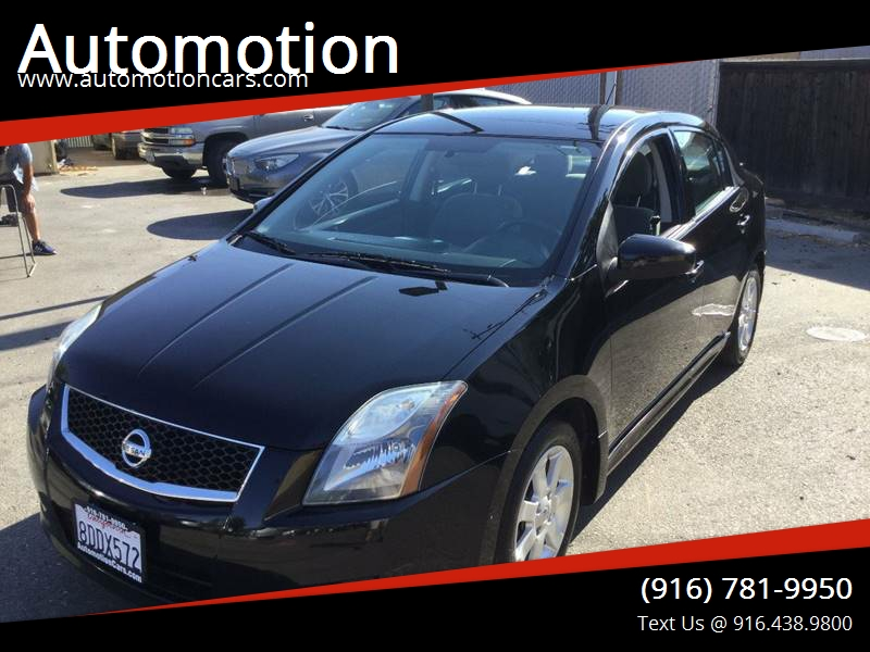 2010 Nissan Sentra For Sale At Automotion In Roseville CA