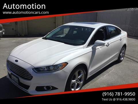 2014 Ford Fusion For Sale >> Ford Fusion For Sale In Roseville Ca Automotion
