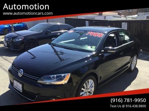 2013 Volkswagen Jetta for sale in Roseville, CA