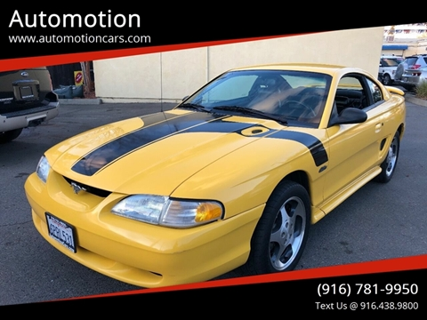 1998 Ford Mustang for sale in Roseville, CA