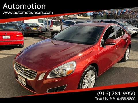 2013 Volvo S60 for sale at Automotion in Roseville CA