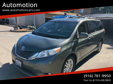2011 Toyota Sienna for sale at Automotion in Roseville CA