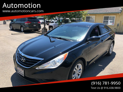 2011 Hyundai Sonata for sale at Automotion in Roseville CA