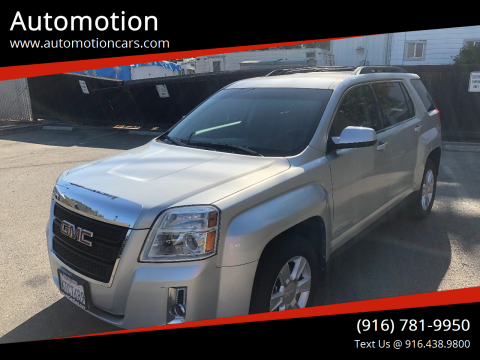 2011 GMC Terrain for sale at Automotion in Roseville CA