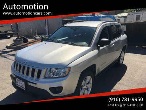 2012 Jeep Compass for sale at Automotion in Roseville CA