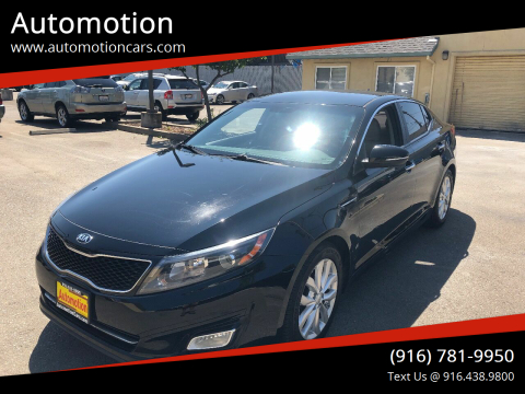 2014 Kia Optima for sale at Automotion in Roseville CA