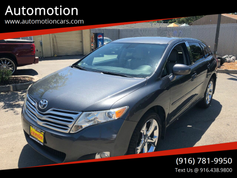 2009 Toyota Venza for sale at Automotion in Roseville CA