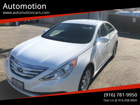 2014 Hyundai Sonata for sale at Automotion in Roseville CA
