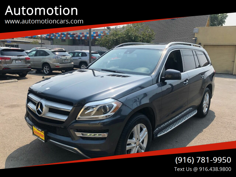 2014 Mercedes-Benz GL-Class for sale at Automotion in Roseville CA