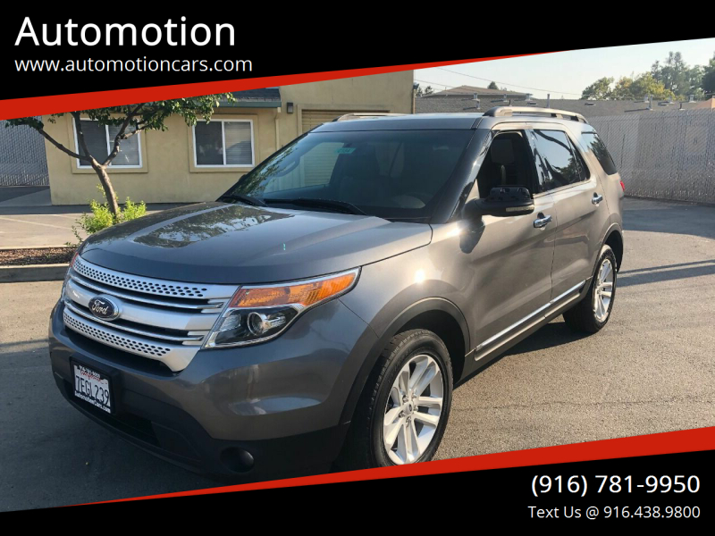 2013 Ford Explorer for sale at Automotion in Roseville CA