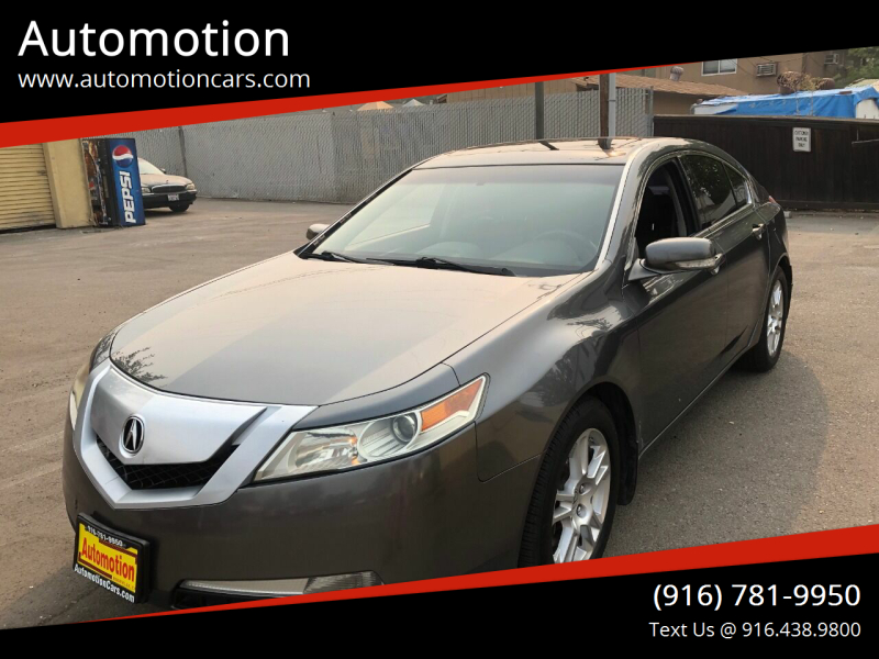 2010 Acura TL for sale at Automotion in Roseville CA