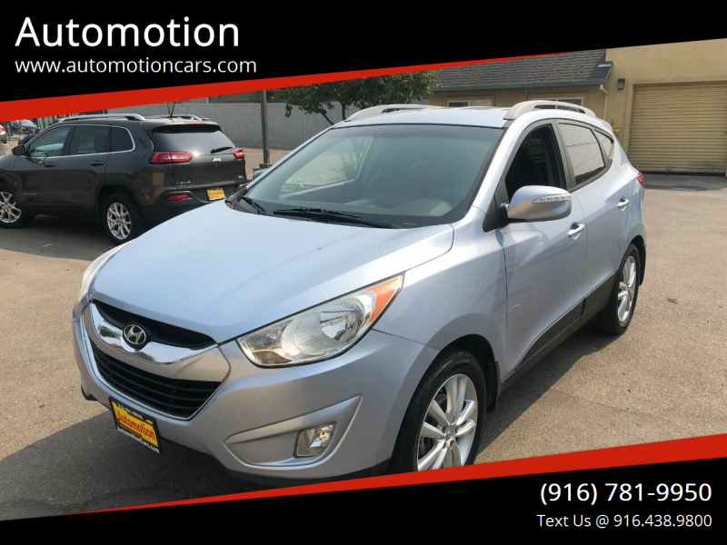 2010 Hyundai Tucson for sale at Automotion in Roseville CA