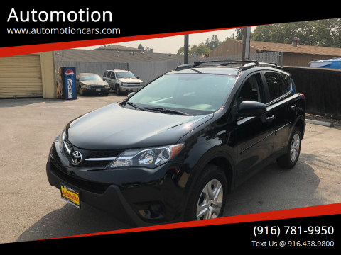 2013 Toyota RAV4 for sale at Automotion in Roseville CA