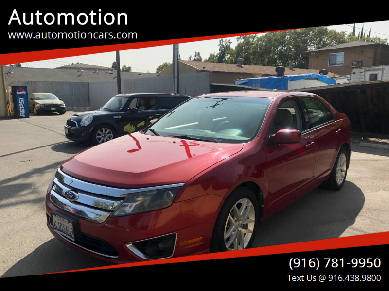 2010 Ford Fusion for sale at Automotion in Roseville CA