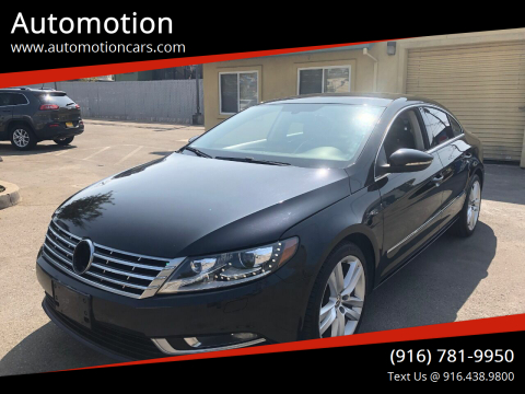 2013 Volkswagen CC for sale at Automotion in Roseville CA