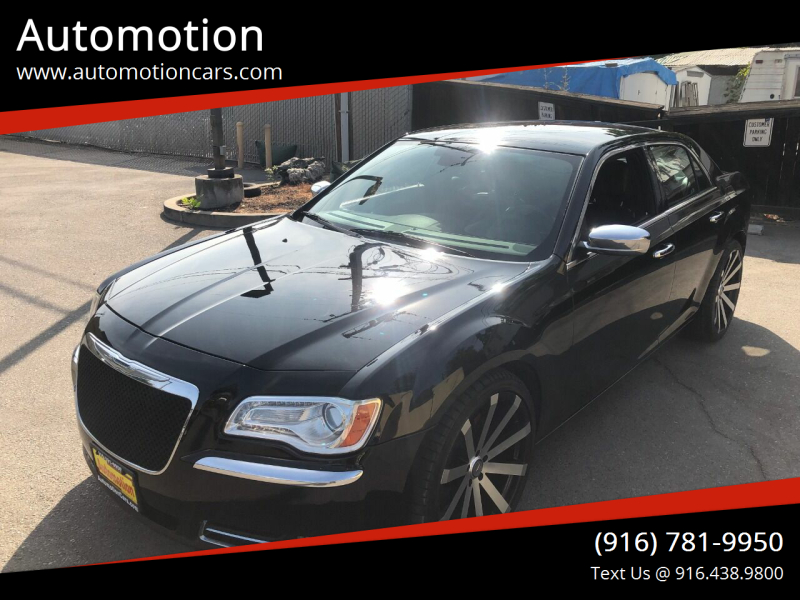2012 Chrysler 300 for sale at Automotion in Roseville CA