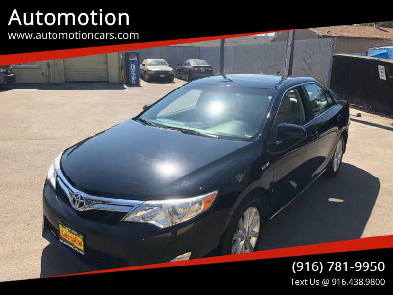2012 Toyota Camry Hybrid for sale at Automotion in Roseville CA