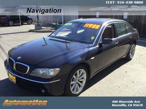 2008 BMW 7 Series for sale in Roseville, CA