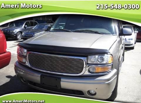 2002 GMC Yukon XL for sale in Philadelphia, PA