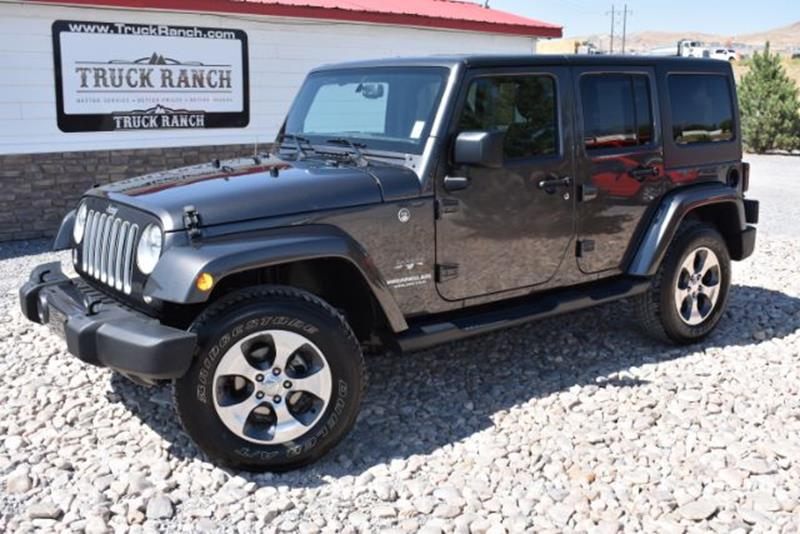 Ranch Jeep >> 2017 Jeep Wrangler Unlimited In Lehi Ut Truck Ranch