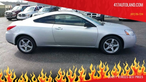 2009 Pontiac G6 for sale in Springfield, MO