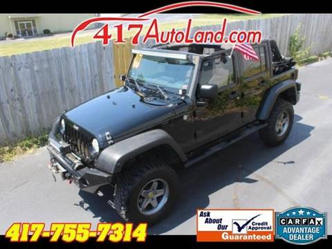 2010 Jeep Wrangler Unlimited For Sale In Springfield, MO
