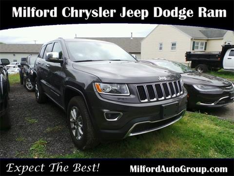2015 Jeep Grand Cherokee for sale in Milford CT