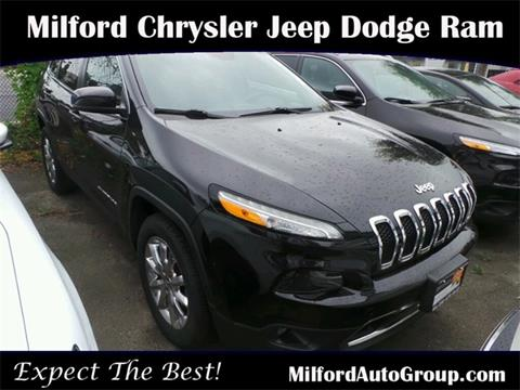 2015 Jeep Cherokee for sale in Milford CT