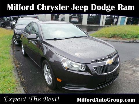 2014 Chevrolet Cruze for sale in Milford, CT