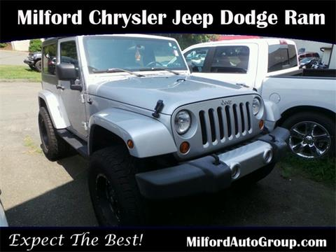 2008 Jeep Wrangler for sale in Milford CT