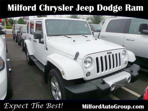 2014 Jeep Wrangler Unlimited for sale in Milford CT
