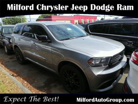 2015 Dodge Durango for sale in Milford, CT