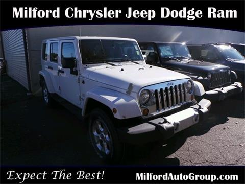 2013 Jeep Wrangler Unlimited for sale in Milford CT