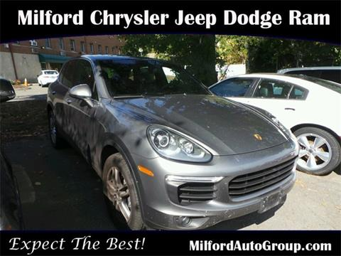2016 Porsche Cayenne for sale in Milford CT
