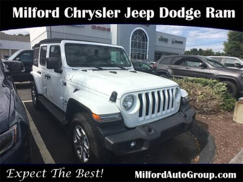 2018 Jeep Wrangler Unlimited for sale in Milford, CT