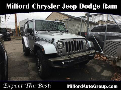 2017 Jeep Wrangler for sale in Milford, CT