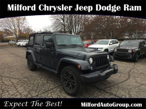 2017 Jeep Wrangler Unlimited for sale in Milford, CT