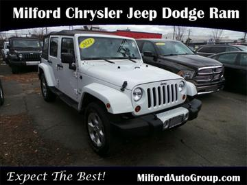 2013 jeep wrangler for sale milford ct. Cars Review. Best American Auto & Cars Review
