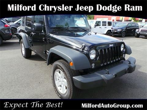 2015 Jeep Wrangler Unlimited for sale in Milford CT