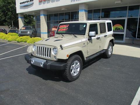 2017 Jeep Wrangler Unlimited for sale in Rochester, IN