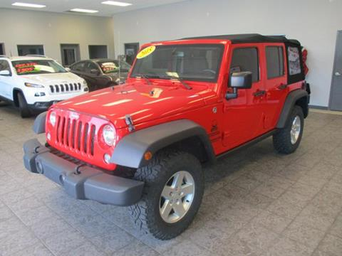 2015 Jeep Wrangler Unlimited for sale in Rochester IN