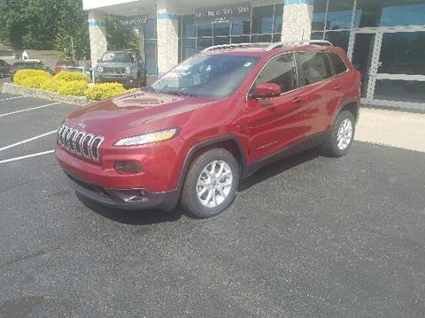 2016 Jeep Cherokee for sale in Rochester, IN