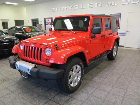2013 Jeep Wrangler Unlimited for sale in Rochester IN
