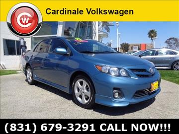 2013 Toyota Corolla for sale in Salinas, CA