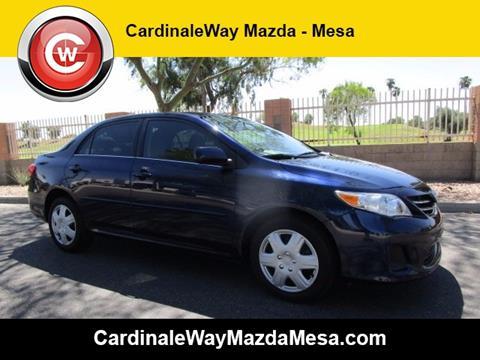 2013 Toyota Corolla for sale in Mesa, AZ